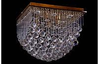 Потолочная люстра с Led подсветкой,пультом Ls 507-45