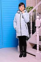 Куртка  демисезонная для девочек, синтепон, размеры 30,32,34,36,38,40