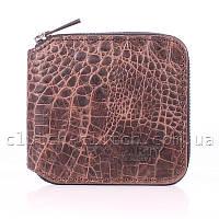 Женское портмоне POOLPARTY Miniwallet Croco Brown