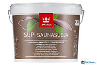 НАТУРАЛЬНАЯ Пропитка для сауны Tikkurila Supi Saunasuoja