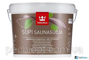 НАТУРАЛЬНАЯ Пропитка для сауны tikkurila supi saunasuoja, фото 2