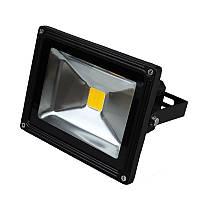Прожектор LED EuroLamp 10W 6500К черный