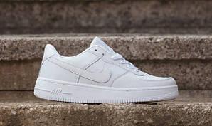 Кроссовки Nike Air Force, белые, унисекс