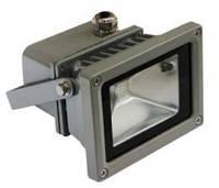 Прожектор LL-122 1х10w белый 230V Серебро 230V 6500K (115*86*85мм) IP65