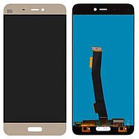Дисплей (экран) для телефона Xiaomi Mi5 + Touchscreen Original Gold