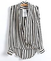"""Женская стильная блуза в полоску """"ZARA"""""""