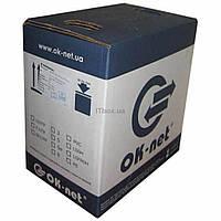 Кабель сетевой OK-Net UTP 305м 4х2х0,51 внешний (КПП-ВП (100) 4х2х0,51)