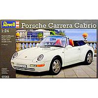 Сборная модель Revell Автомобиль Porsche 911 Carrera Cabrio 1:24 (7063)