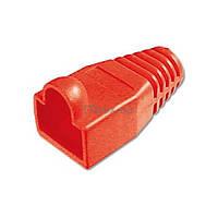 Колпачок коннектора для RJ45 червоний 100 шт DIGITUS (A-MOT/R8/8)