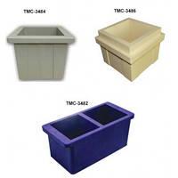 Пластиковые формы куба для бетона
