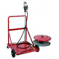 Установка для раздачи консистентных смазок под тару 180-200 кг