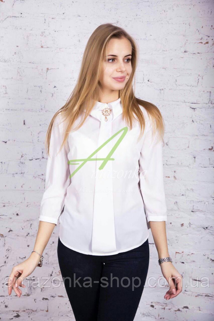 Модная женская блузка - сезона весна 2017 - (код бл-68)