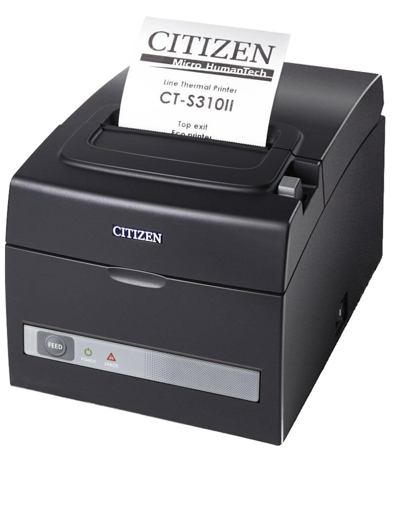 Принтер чеков Citizen CT-S310II (Ethernet + USB) CT-S310IIETEBK