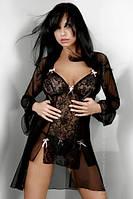 Элегантный удлиненный пеньюар Tatiana dressing gown LC, S/М, L/XL