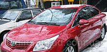 Ветровики окон Тойота Авенсис 2 (дефлекторы боковых окон Toyota Avensis T250)