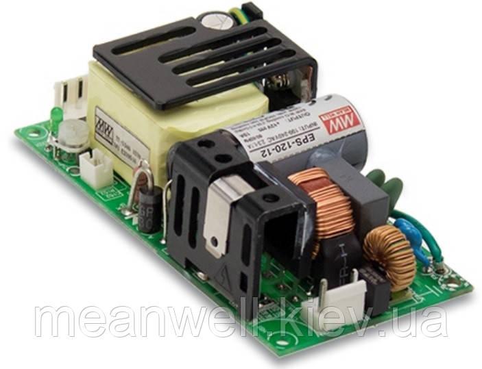 EPS-120-15 Блок питания Mean Well  Открытого типа 84 Вт, 15 В, 5.6 А (AC/DC Преобразователь)