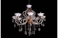Люстра хрустальная на восемь ламп LS1509-8, фото 1