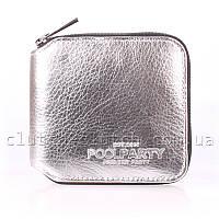 Женское портмоне POOLPARTY Miniwallet Silver