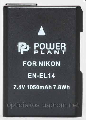 Аккумулятор PowerPlant EN-EL14 (Nikon) Li-Ion Battery
