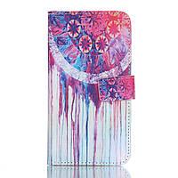 Чехол книжка TPU Wallet Printing для LG K10 K410 Dream Catcher