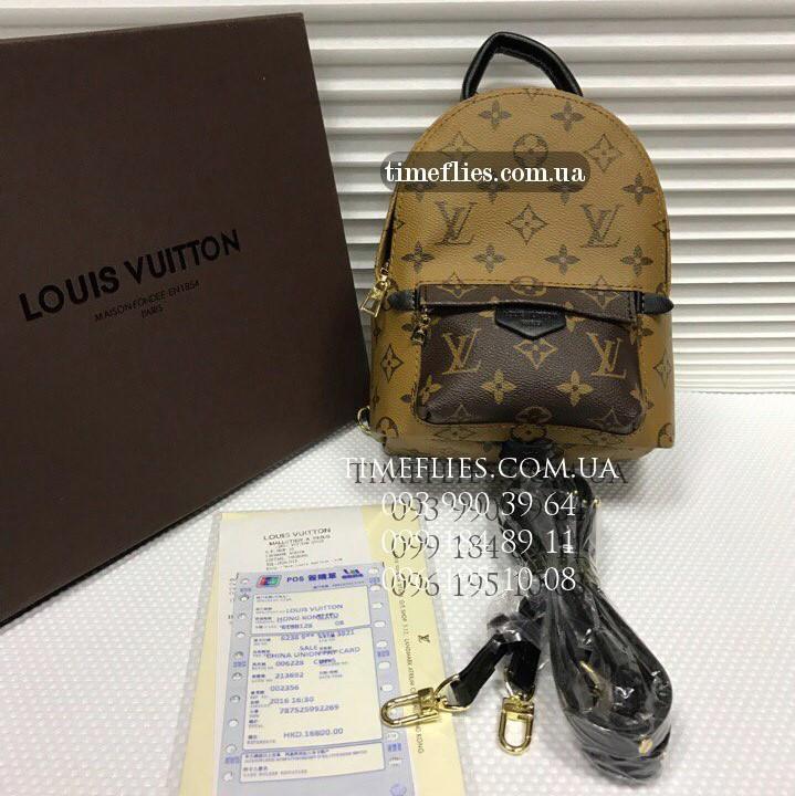 "Рюкзак Louis Vuitton №4 ""Palm Springs Backpack Mini"""