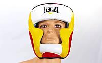 Шлем EVERLAST для тайского бокса закрытый (р-р L-XL)