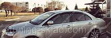 Ветровики окон Тойота Авенсис 3 (дефлекторы боковых окон Toyota Avensis 3 T270)