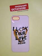 Чехол-накладка - Just Cavalli - I Lock Your Love для iPhone 5 / 5s