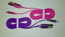Плоский USB кабель (micro USB)