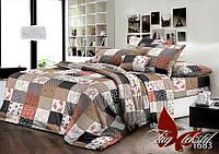 Комплект постельного белья TM TAG двуспальный ренфорс R1683