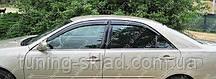Ветровики окон Тойота Камри 30 (дефлекторы боковых окон Toyota Camry V30)