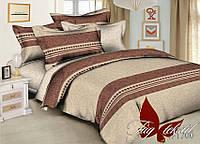 Комплект постельного белья ТМ TAG евро ренфорс R1700
