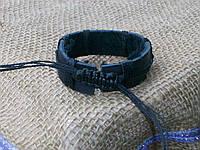 Кожаный браслет на руку, ручная работа