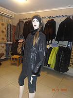 Куртка коричневая с пуговицами