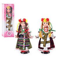 Фарфоровая кукла украиночка D 13650 на подставке