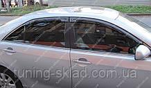 Ветровики окон Тойота Камри 40 (дефлекторы боковых окон Toyota Camry V40)
