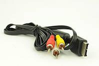 AV кабель для PS2, компонентный av кабель ps2, кабель переходник