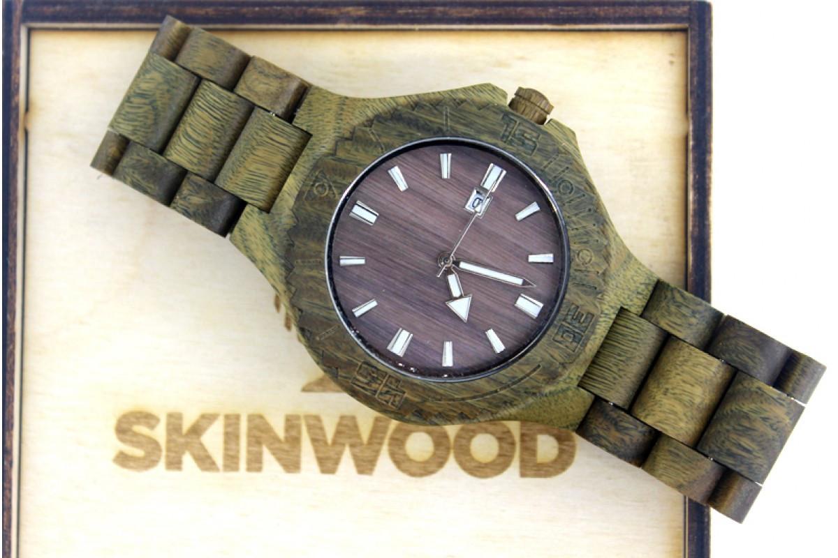 Эксклюзивные деревянные наручные часы Haki