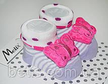 Носки с игрушкой Хлопок р.0-6 мес.