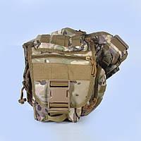 Тактическая сумка на плече - Multicam