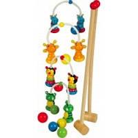 """Игрушка для малышей """"Игра Крокет"""" Д166у, Руди"""