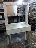 Белый стол для макияжа с подсветкой А30, фото 4