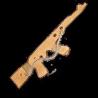 """Детское деревянное оружые """"Автомат"""", 50см"""
