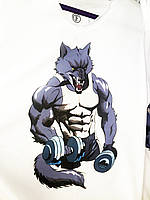 Мужская спортивная футболка Wolf