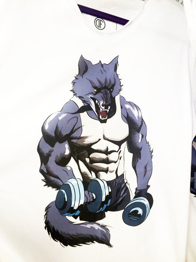 Футболка для фитнеса Wolf