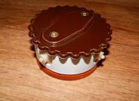 Распределительная коробка тип №2 ZION комбинированная коричневая