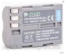 Аккумулятор PowerPlant EN-EL3e (Nikon) Li-ion battery