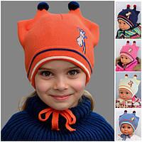 Детская шапка с ушками, фото 1