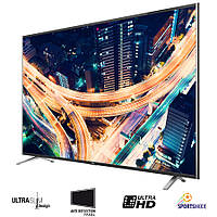 Телевизор TCL U55S7906 (PPI 1100Гц, Ultra HD 4K, Smart, Dolby Digital Plus 2x20Вт, DVB-C/T2/S2)
