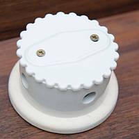 Распределительная коробка тип №2 ZION комбинированная белая